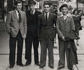 1930s gangster fashion